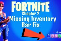 Why Can't I See My Inventory in Fortnite Chapter 2