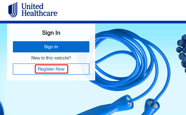 MyUHC Account Register