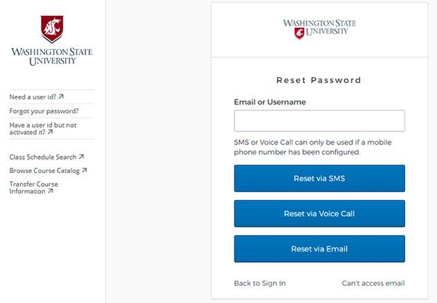 MyWSU Forgot Password 2
