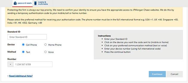 JPMC Forgot Password 2