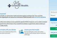MyCenturaHealth Login