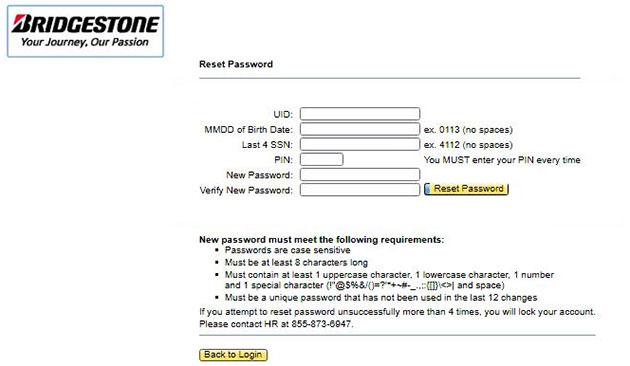 MyHR BFusa Bridgestone Forgot Password 2