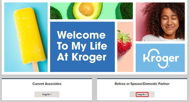 MyLifeAtKroger Login For Retiree