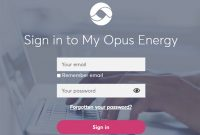 Opus Energy Login