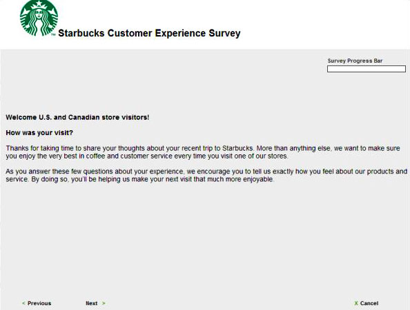 Starbucks Survey 2