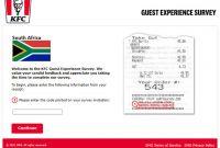 KFC South Africa Survey