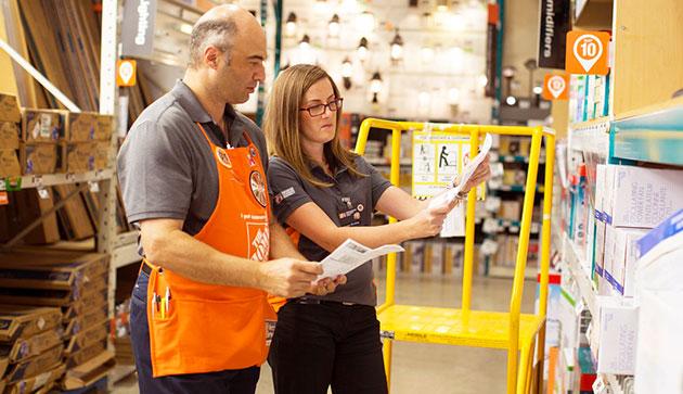 Home Depot Job Benefits