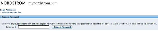 MyNordstrom Forgot Password 2